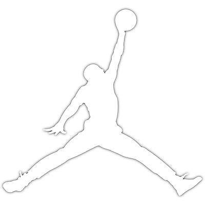 2x Air Jordan Jumpman Logo 2 Michael Jordans Mj 23 Vinyl Decal