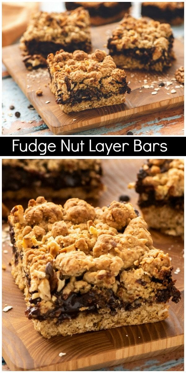 Fudge Nut Layer Bars recipe from