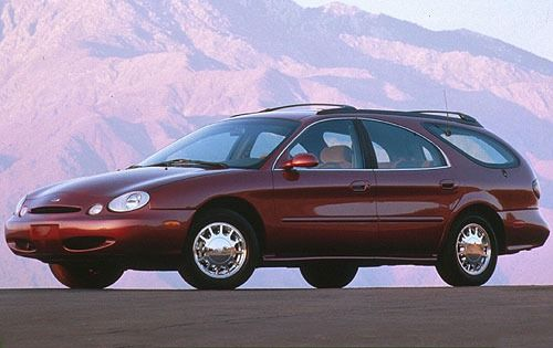 Curbside Classic 1996 99 Ford Taurus Wagon Making Over A Family Friend Station Wagon Wagon Ford