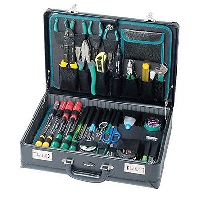 Tool Kit Electronics Repair Laptops Phones Game Systems Brief Case Travel New