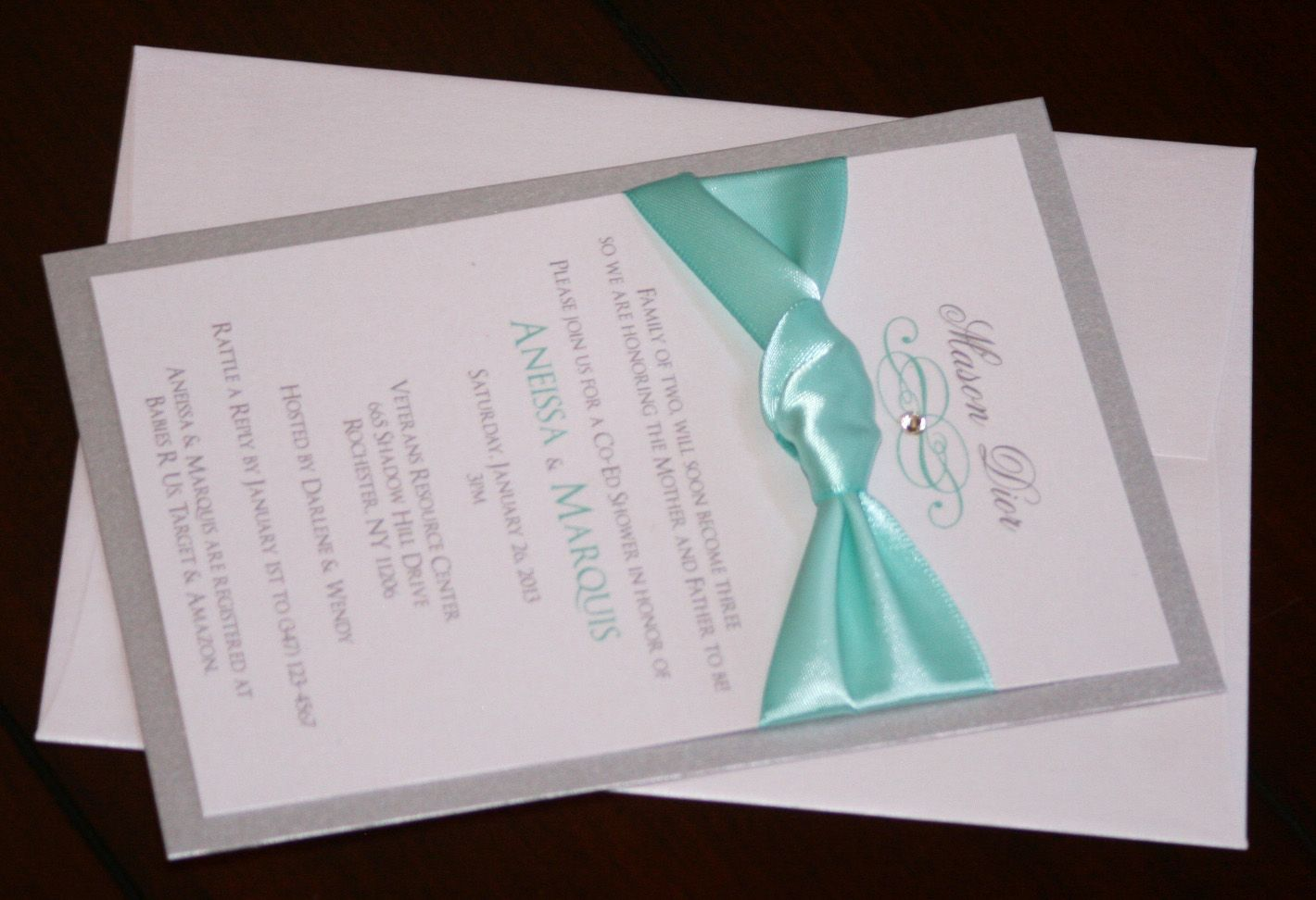 tiffany shower invitations Google Search tiffany shower