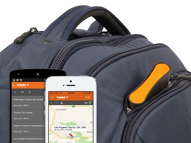 Trakdot, A Smart Luggage-Tracking Device That Sends Updates About Its Location While in Transit