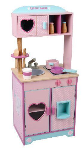 Affiliate Link tolle Spielküche Küche aus Holz Little