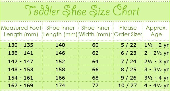 Size Guide Measure Childs Feet Items In Childrens Shoe Size Store