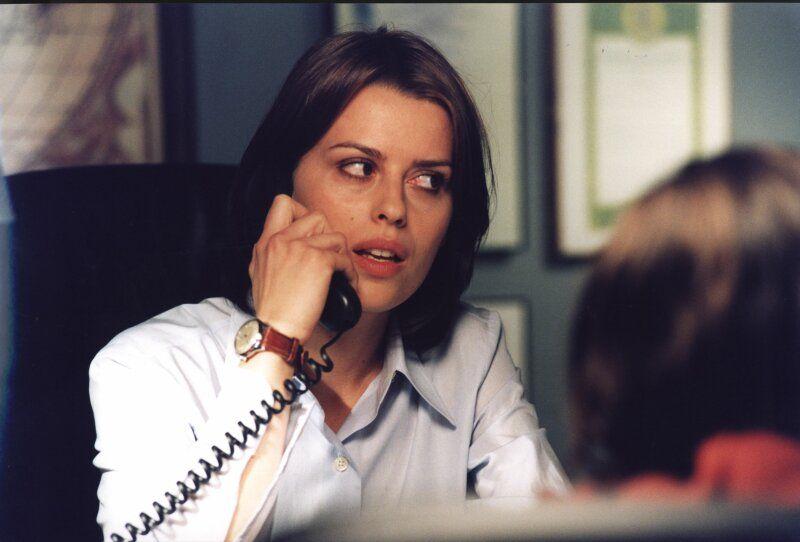 Claudia Pandolfi nella terza stagione di Distretto di Polizia, che oggi compie vent'anni.