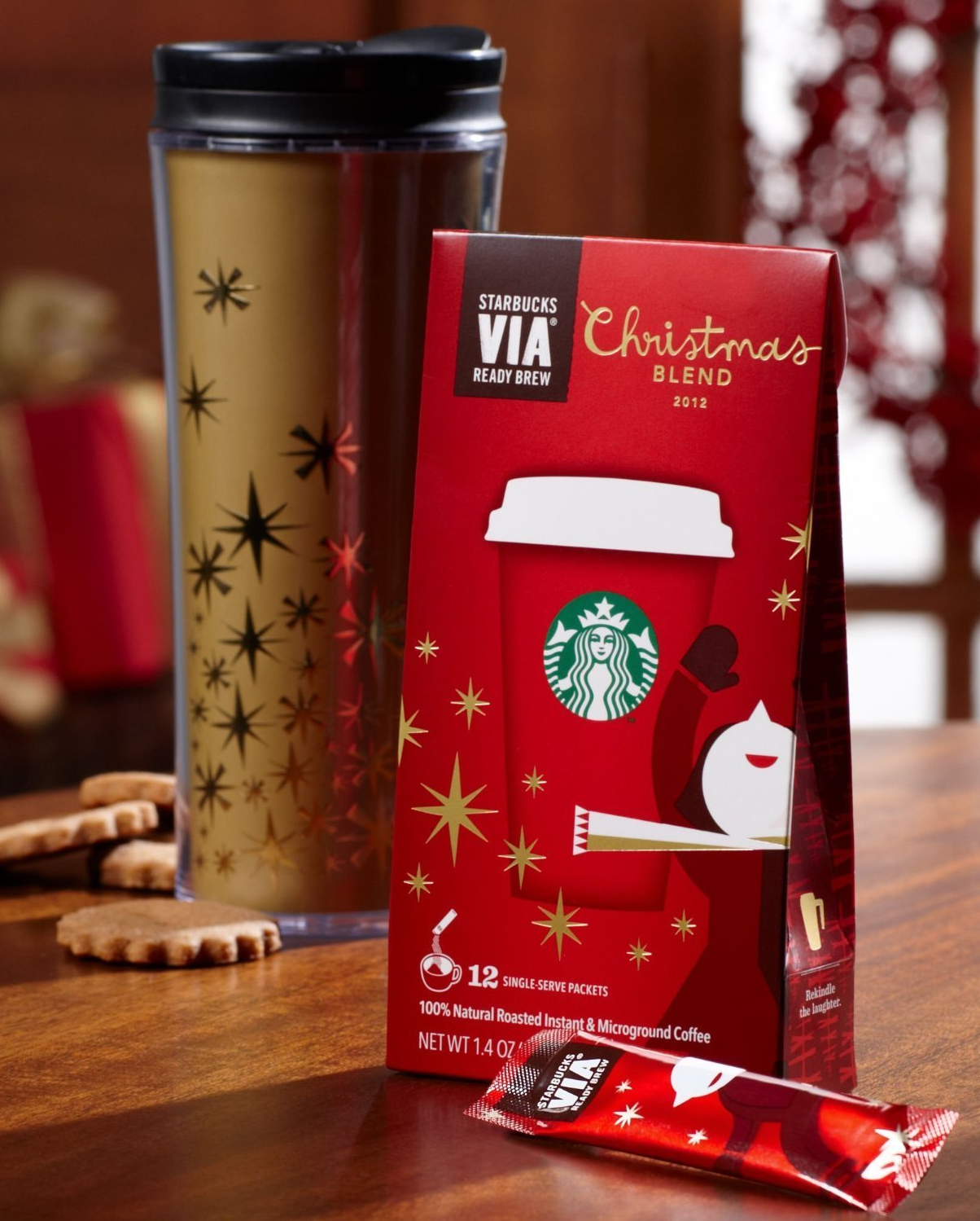 Gift Ideas For The 12 Days Of Christmas: The 12 Days Of Christmas Starbucks Gift Ideas...for True