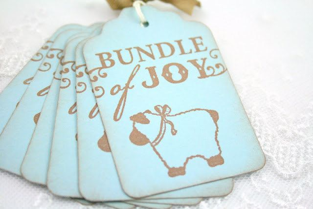 Lamb baby tags boy shower christening favor gift tags vintage lamb baby tags boy shower christening favor gift tags vintage stamped blue negle Gallery