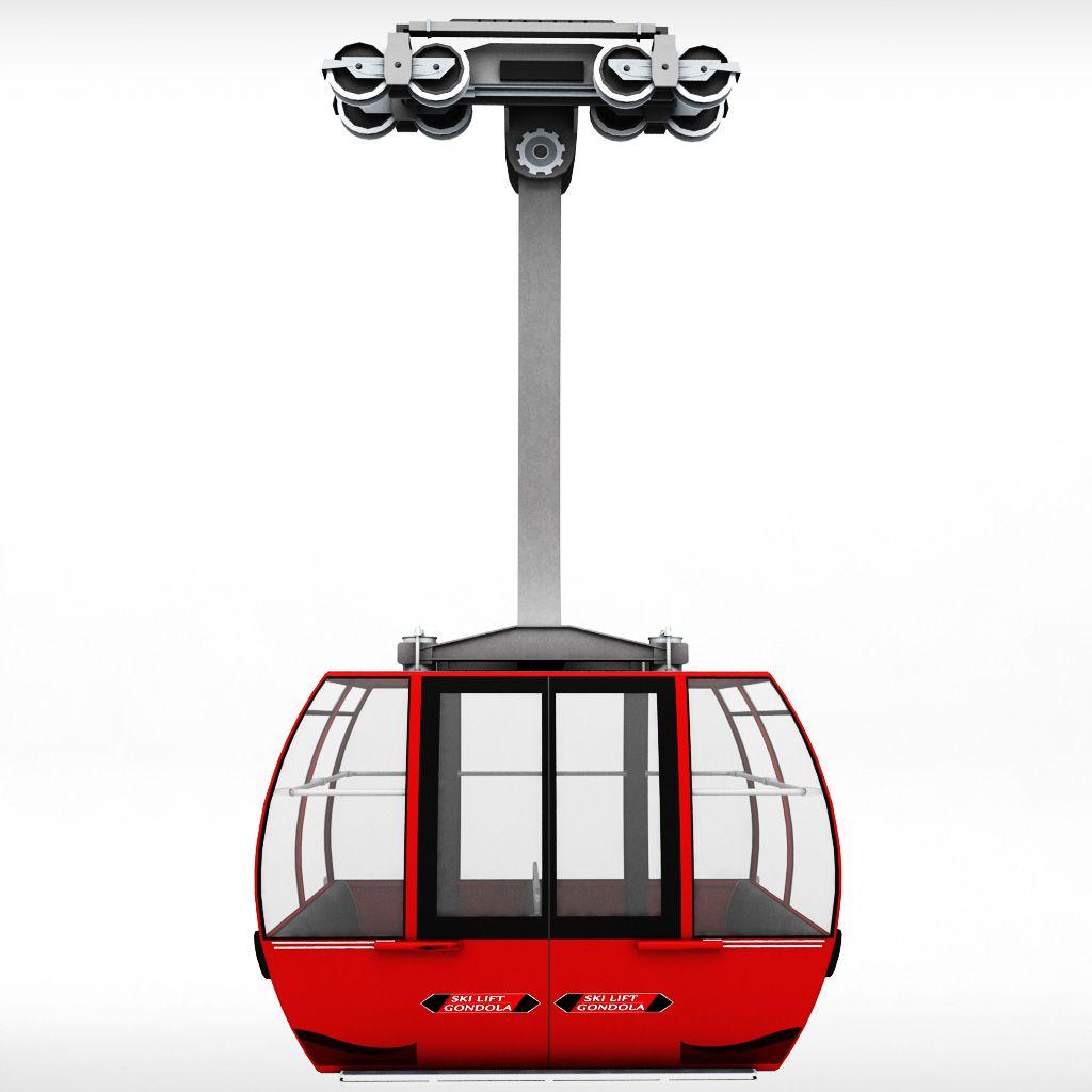 Ski Lift Gondola Cable Car Chair Lift Ski Lift Wicker Rocking Chair