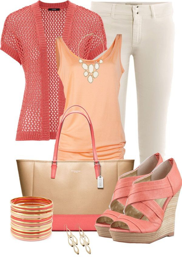 af73934ba804 50 Cute Outfit Ideas For Spring Summer Polyvore Combinations That Will  Spice Up…