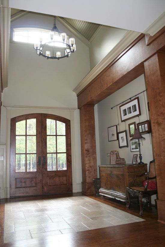 Foyer Of The Richelieu House Plan Number 1157 Home