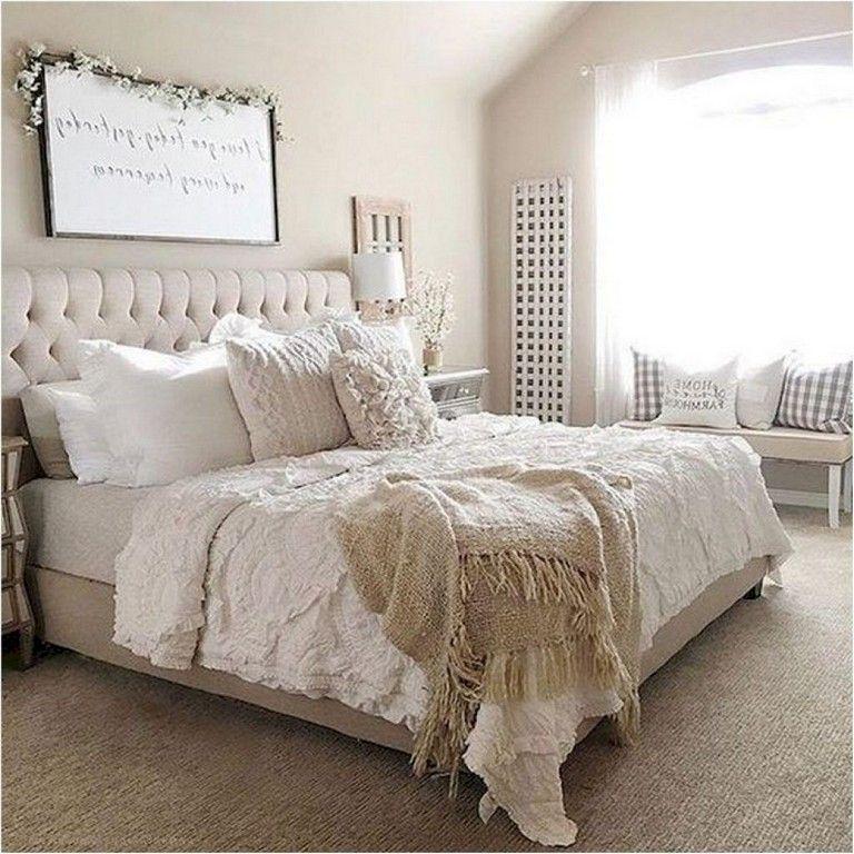 Neutral Master Bedroom Decorating Ideas: 79+ Comfortable Master Bedroom Decor Ideas #masterbedroom