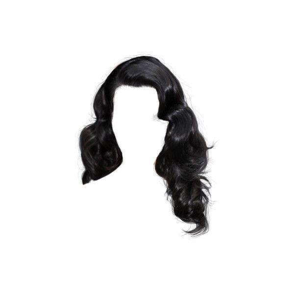 Polyvore Hair Styles Doll Hair Black Curly Hair