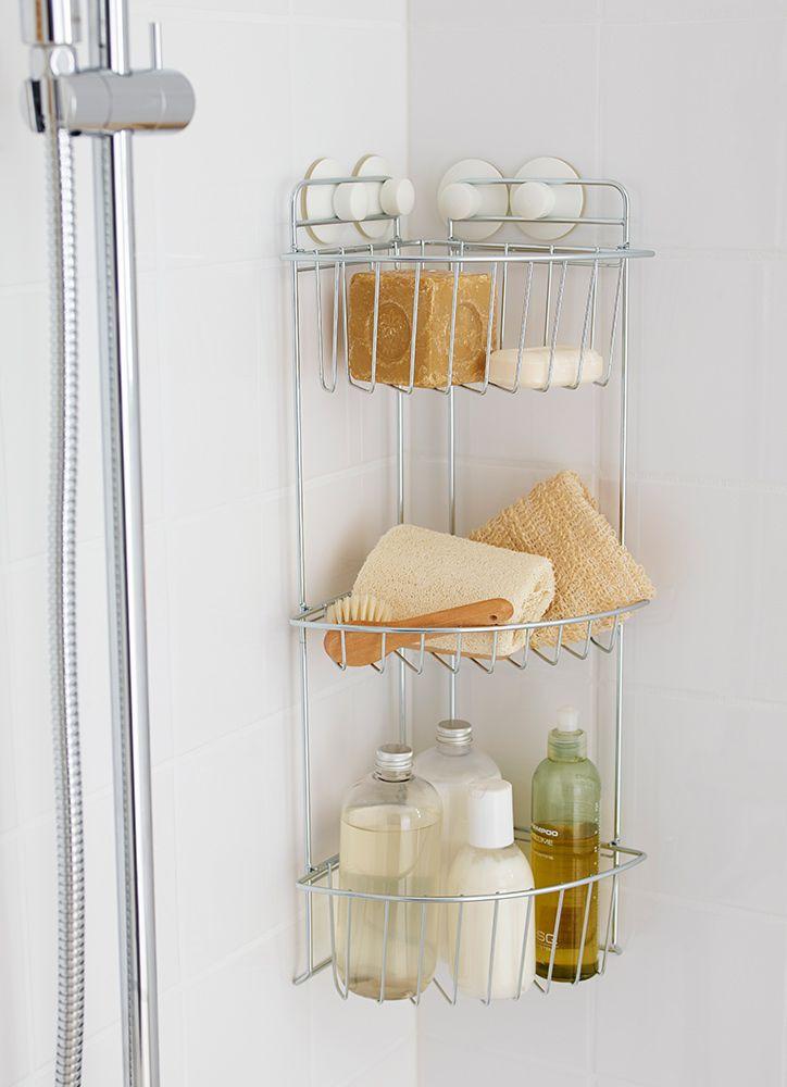 Deja al desorden colgado usando los ganchos de pared for Complementos bano ikea