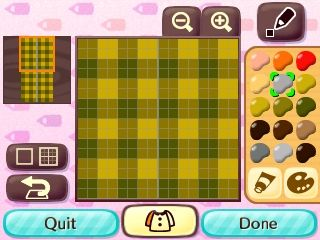 Plaid Tutorial From Fateside Acnl Clothes Qr And Tutorials
