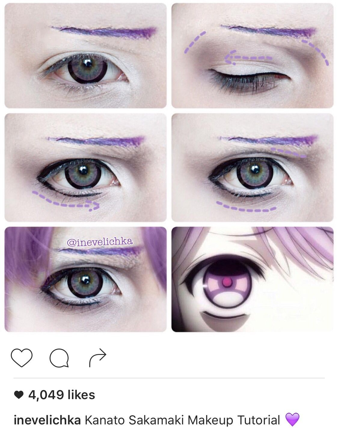 Kanato sakamaki cosplay make up pinterest kanato sakamaki kanato sakamaki makeup tutorial lenses from hope this will be helpful i dont take requests baditri Gallery