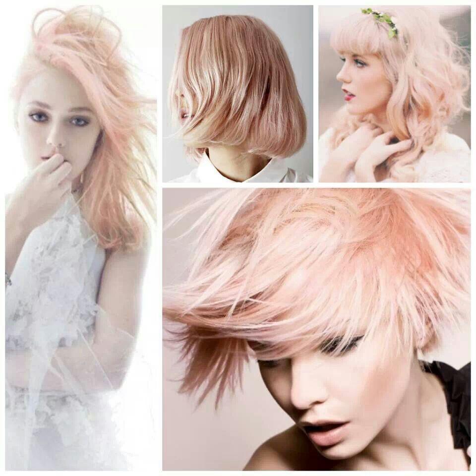 Peach pastel hair color hair color pinterest pastel hair