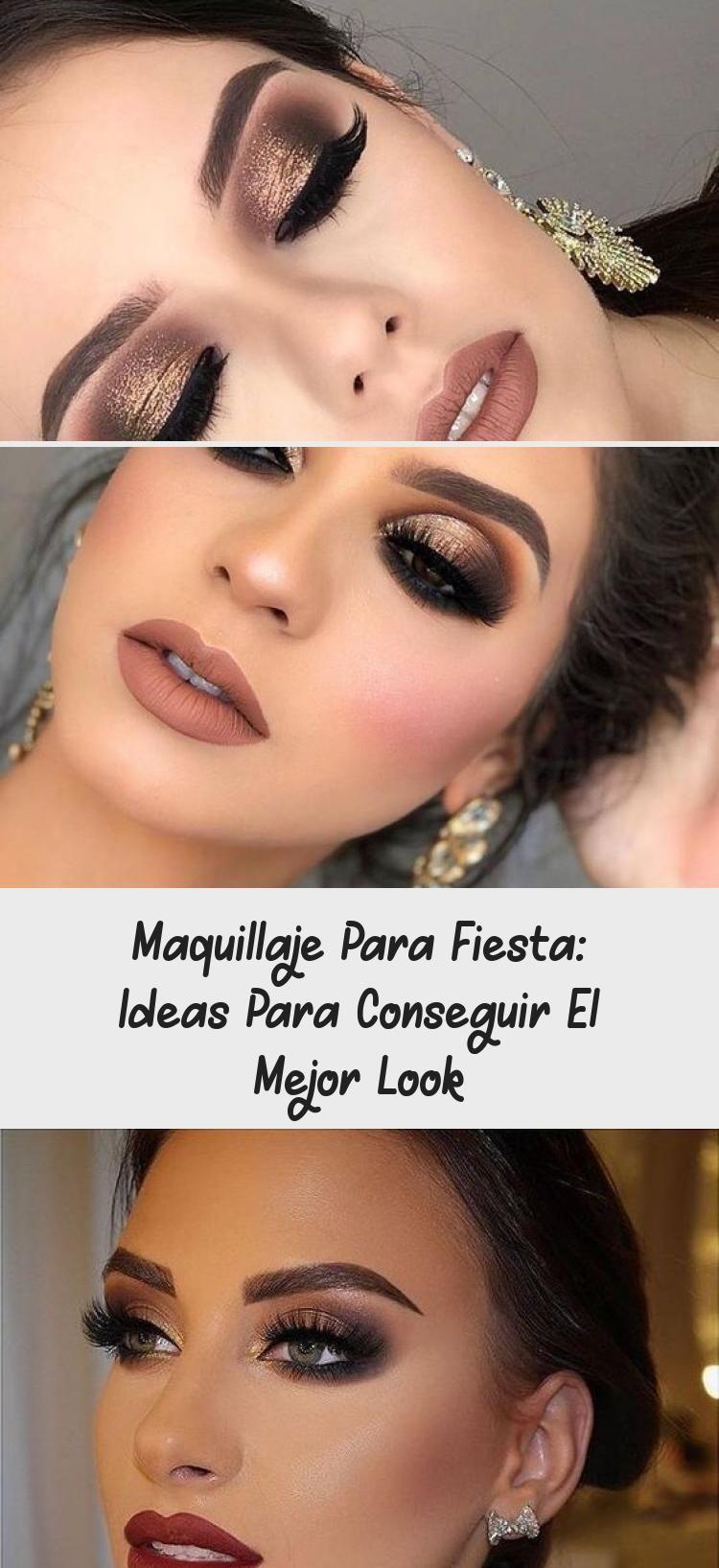 Maquillaje Para Fiesta De Dia Maquillaje Para Fiesta De Noche Paso A Paso Maquillaje Para Fiesta De Dia Maquill Night Makeup Party Makeup Evening Eye Makeup
