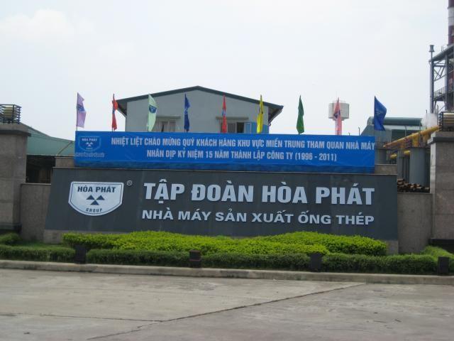 Hòa Phát đứng thứ 16 trong Top 40 thương hiệu giá trị nhất Việt Nam