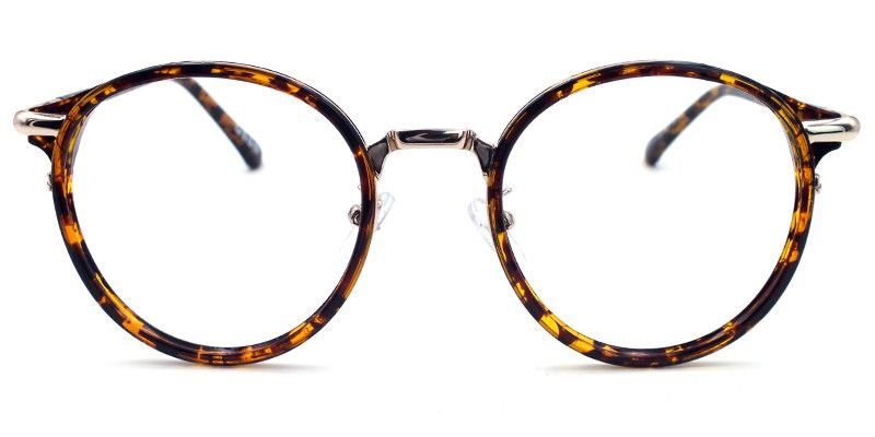 11b2e91e4be Christine Round Tortoise-Gold Eyeglasses - Women - SHOP BY GENDER -  EYEGLASSES