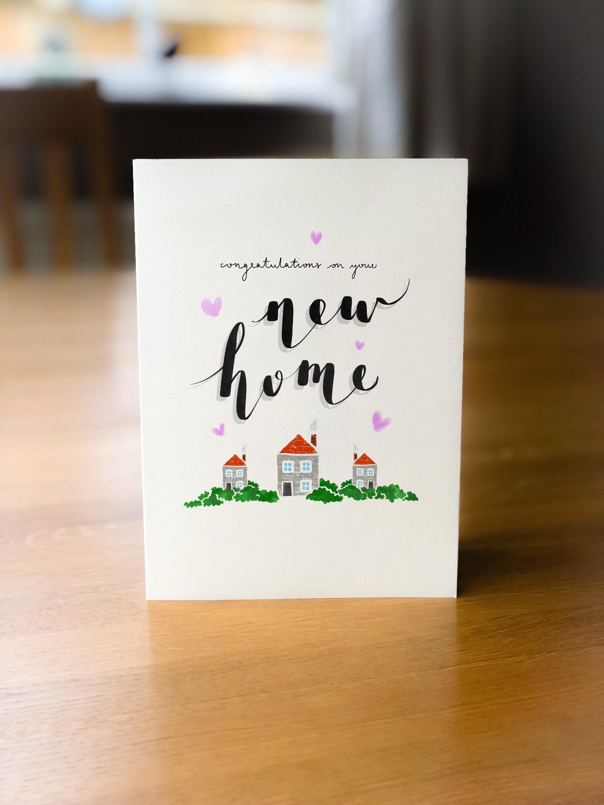 """New home card """"congratulations on your new home"""" Etsy"""