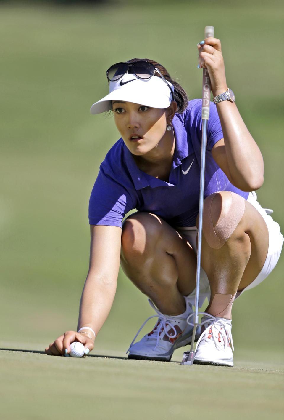 Golf michelle wie nude with
