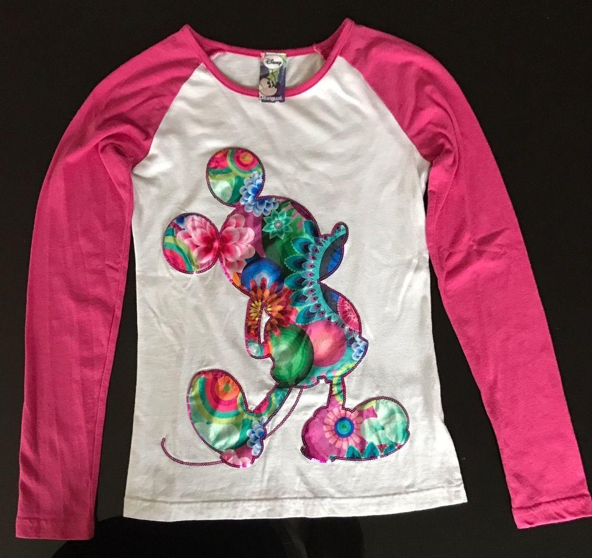 Desigual Shirt Micky Maus in Kleidung & Accessoires, Kindermode, Schuhe & Access., Mode für Mädchen   eBay!