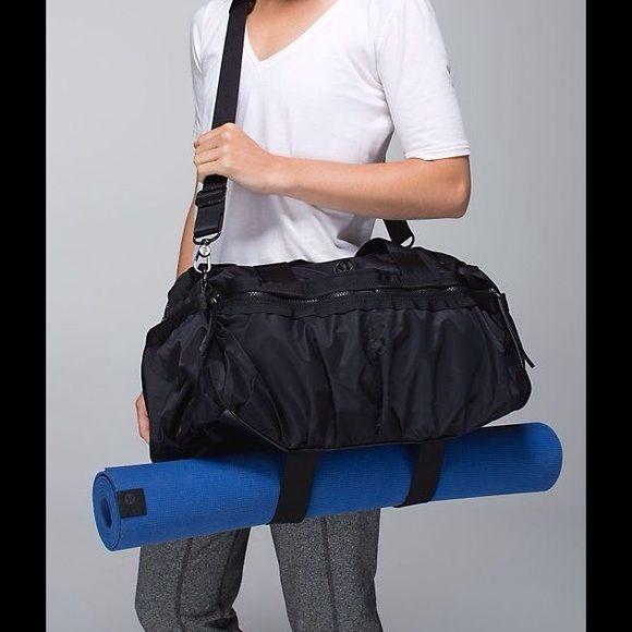 9bf68d9801 Lululemon Gym To Win Duffle NWT. Amazing gym bag lululemon athletica Bags  Travel Bags