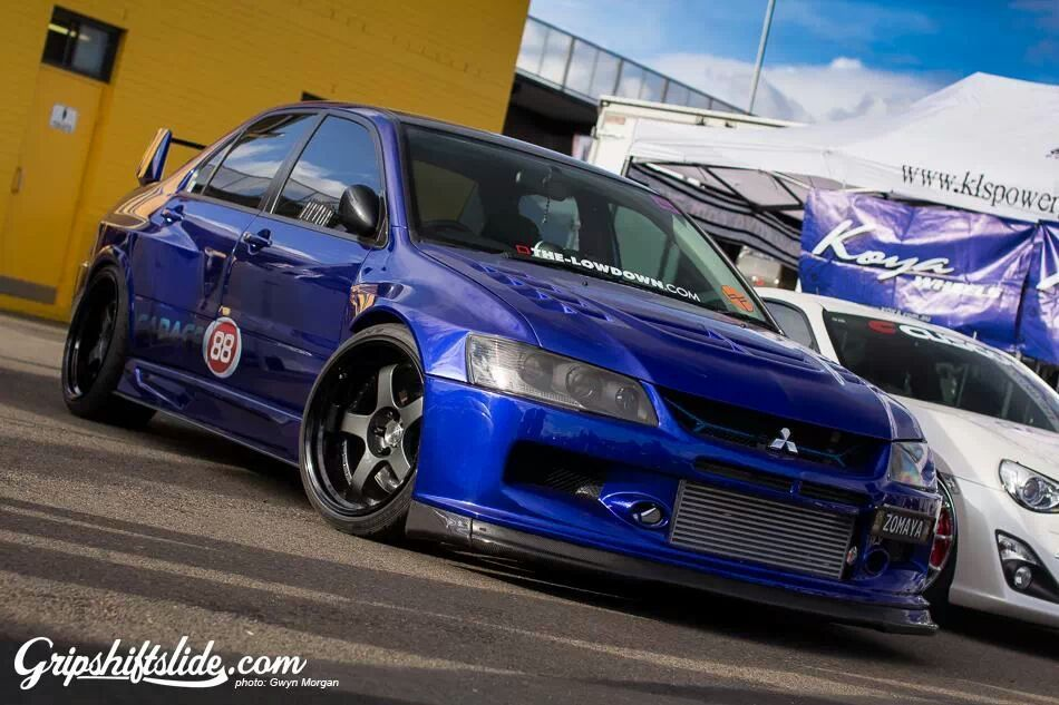 modified mitsubishi lancer evo ix 9