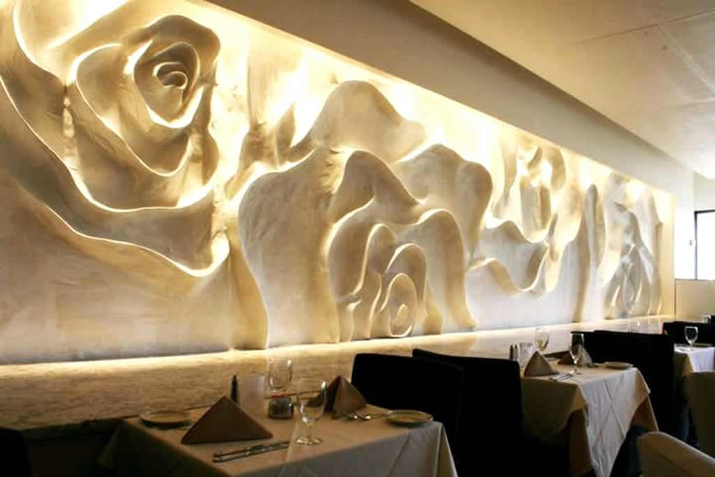 dining room wall art interior decoration of 51fifteen restaurant and rh pinterest com