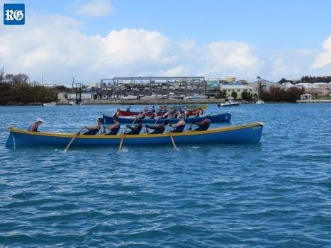 The island's first gig regatta has been hailed a great success, surpassing the expectations of the scores of international rowers that took part in