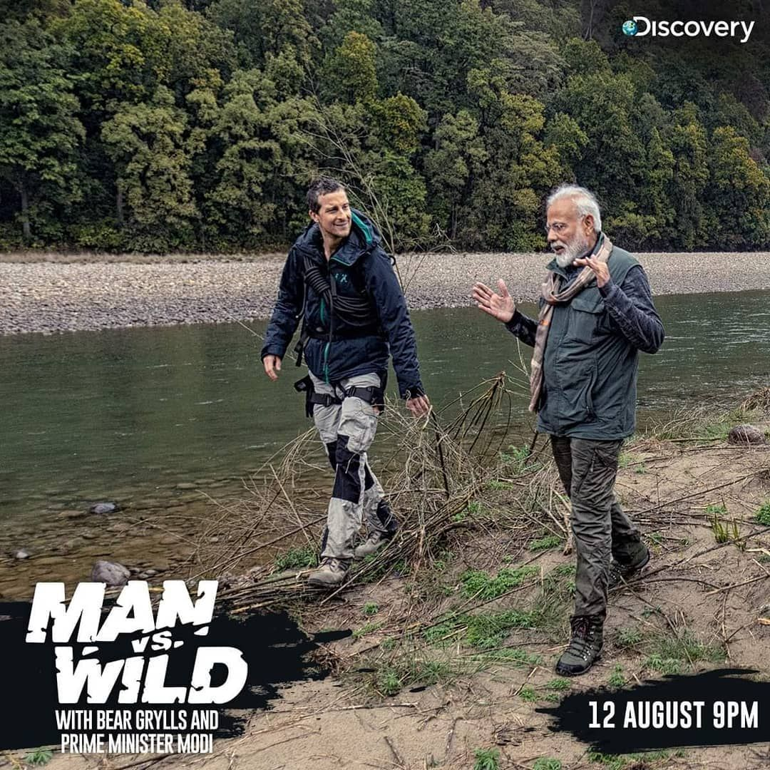 "Discovery Channel India on Instagram: ""Two dynamic men"
