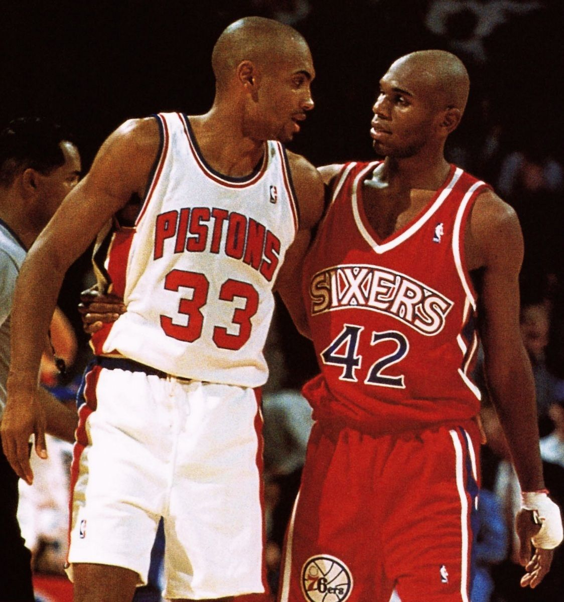 Grant Hill and Jerry Stackhouse future teammates