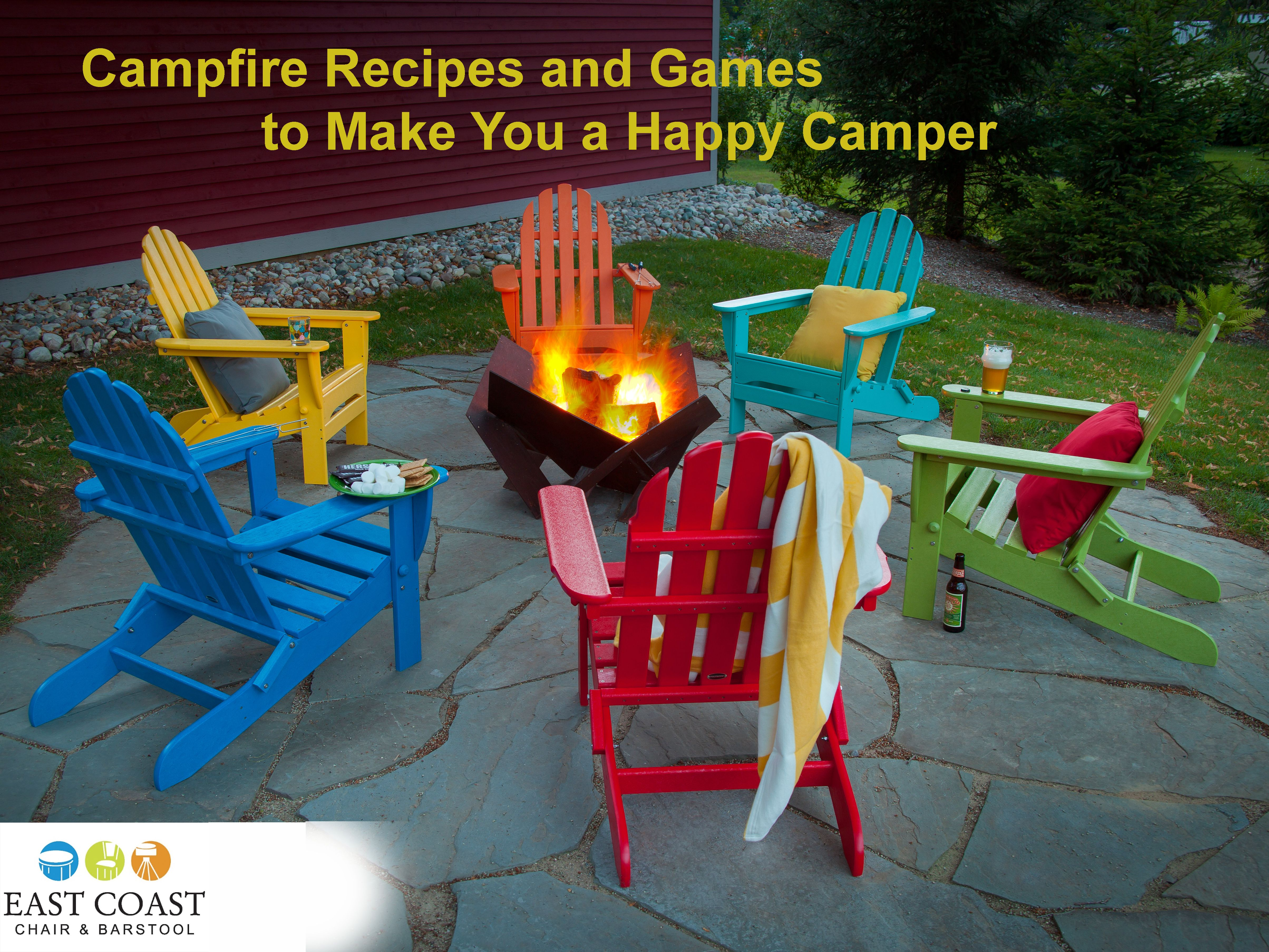 Campfire Recipes and Games to Make You a Happy Camper