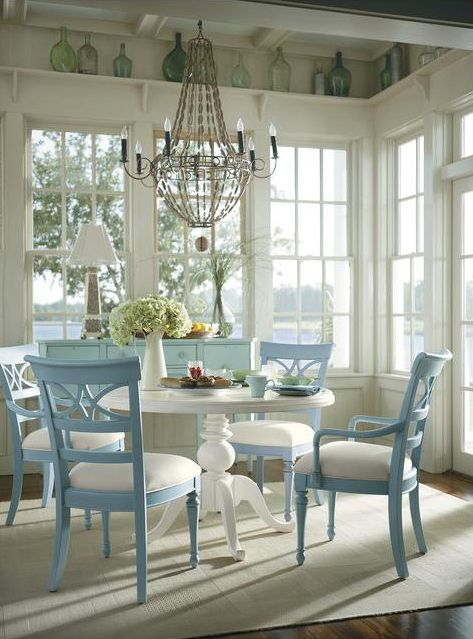 Coastal Living Cottage Dining Room By Custom Furniture
