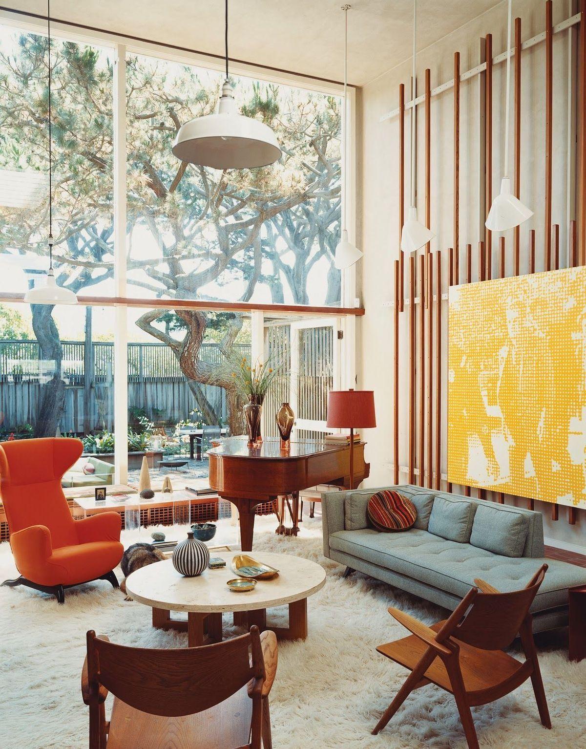Mid Century Design Ideas Living Room Decor Interior Design Ideas