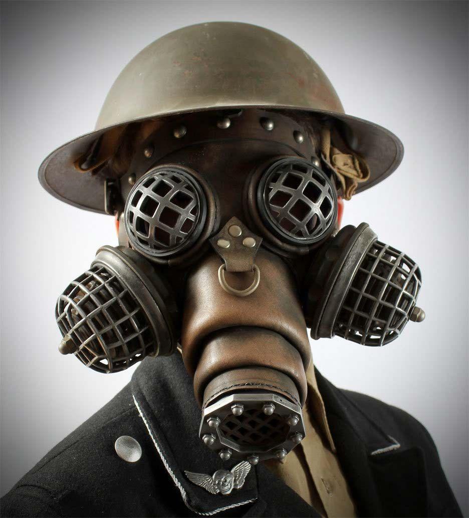 Steampunk War Gas Mask by Tom Banwell | Steampunk Mask | Pinterest ...