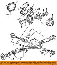 Ford Oem Rear Axle Seals F67z1s177aca Fits Lincoln Town Car
