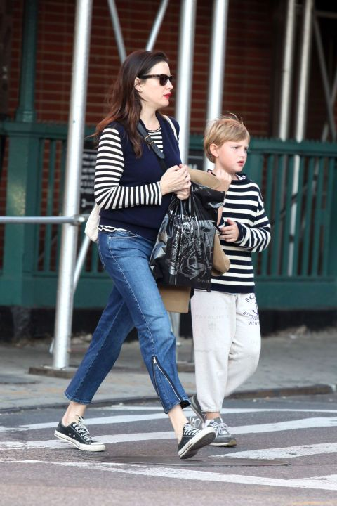 Mommy + me style | Liv Tyler and Milo