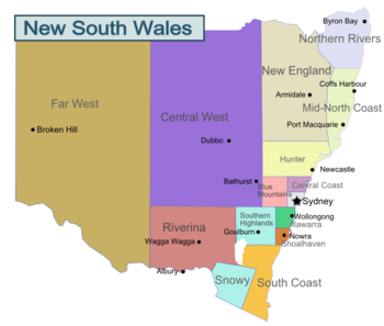 New South Wales travel guide Wikitravel AUSTRALIA TOURISM