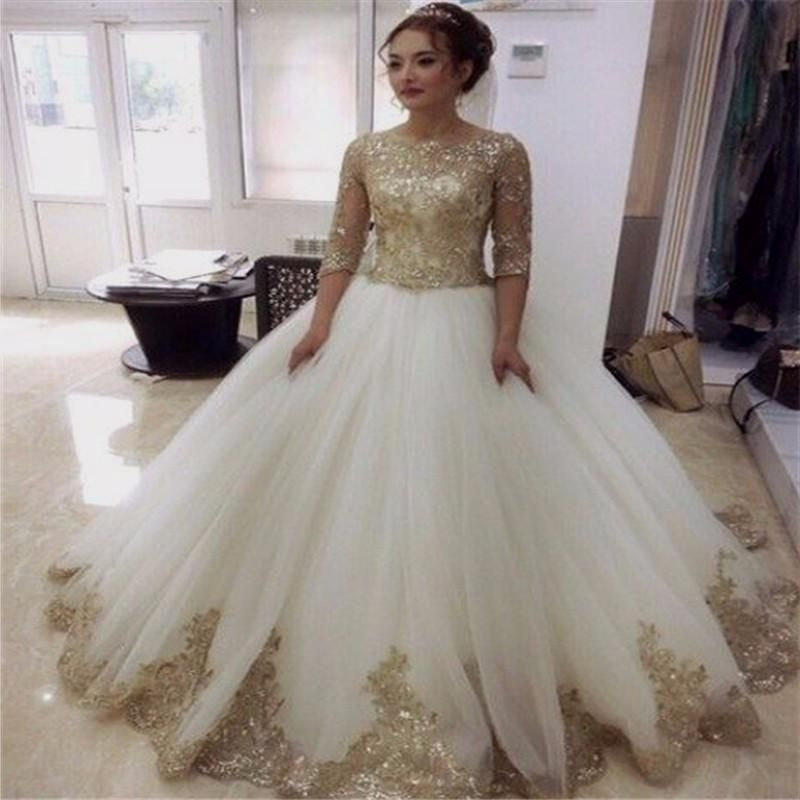 White gold wedding dress online shopping the world largest for Shop online wedding dresses
