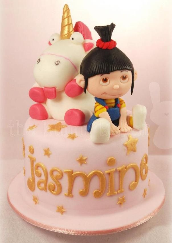 Agnes From Despicable Me By The Bunny Baker Cakes Gateau
