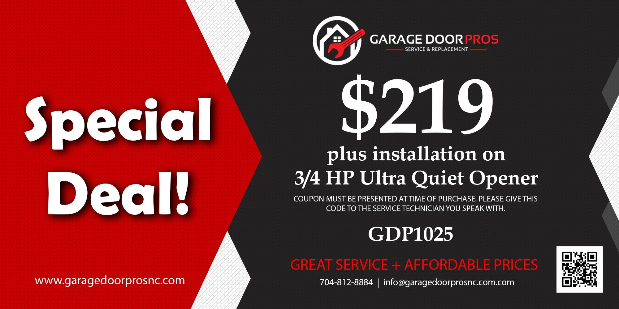 Find The Leading Garage Door Opener Repair Charlotte Nc. We Have Friendly,  Fully Trained