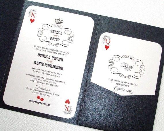 Las Vegas Wedding Save The Date Casino Invitation Playing Etsy Vegas Themed Wedding Vegas Wedding Invitations Las Vegas Wedding Invitations