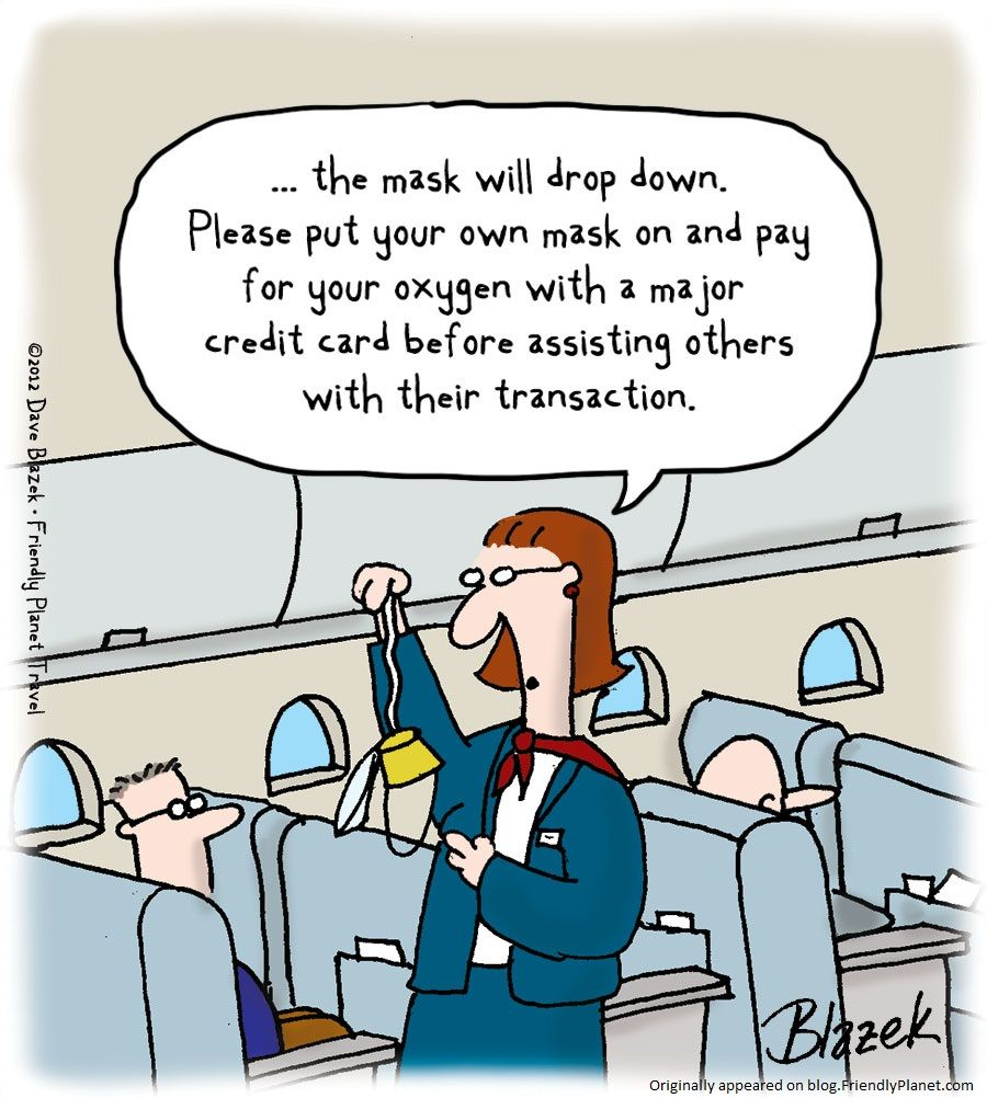 The real cost of an airplane flight Aviation humor