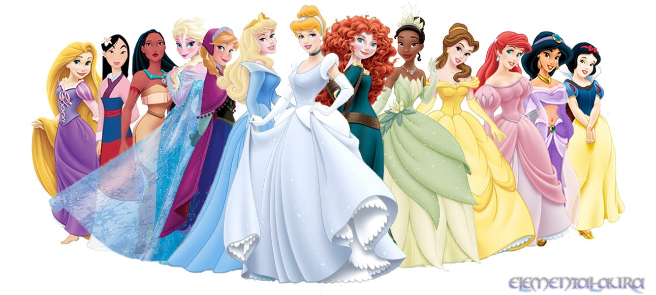 A List Of Disney Princess Movies