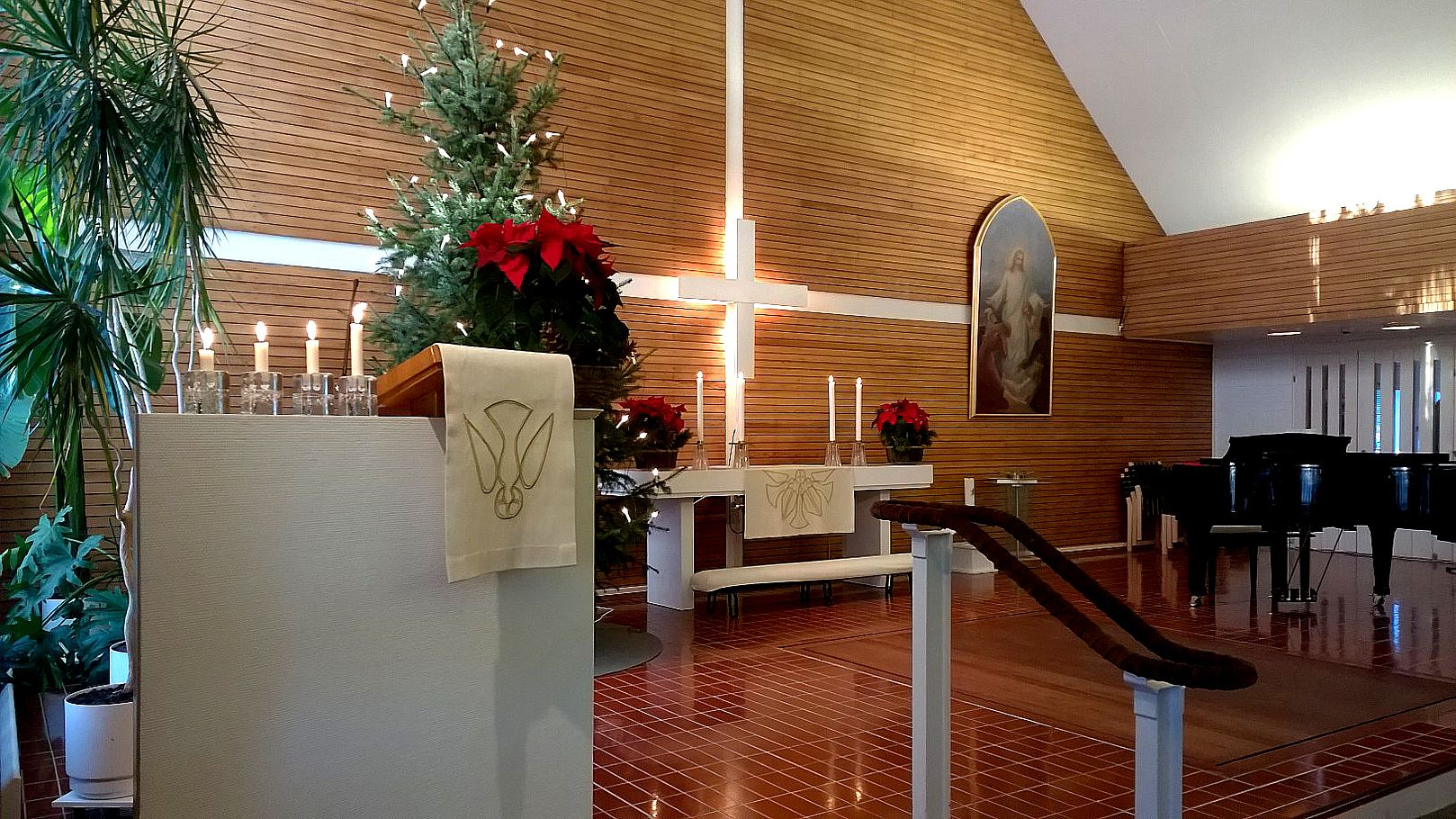 Jouluaatto Kappelikirkossa