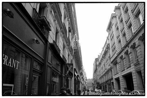 Paris Monocromática - Fotos de Paris em preto e branco.