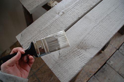 Paint Rough Cedar White Wood Wall Cedar Walls Rustic White