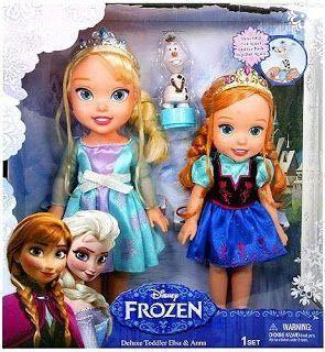 Best Frozen Gift Ideas: Toddler Dolls!