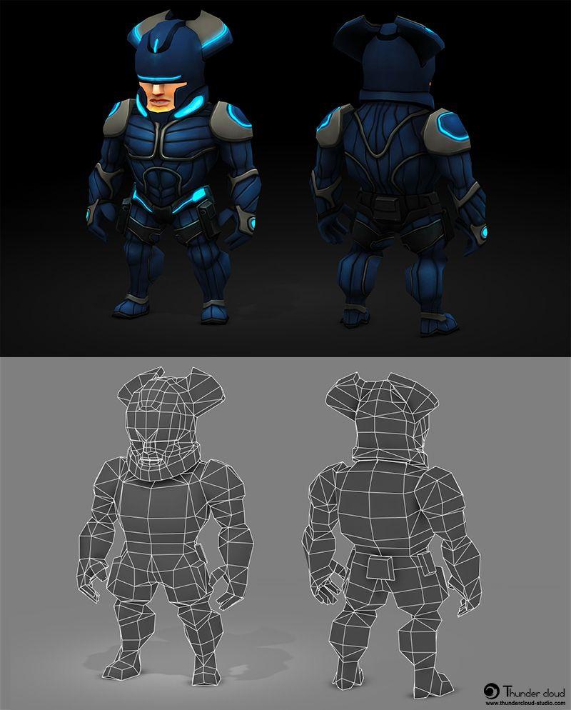 Meltdown Thunder Cloud Studio Character art, 3d characters